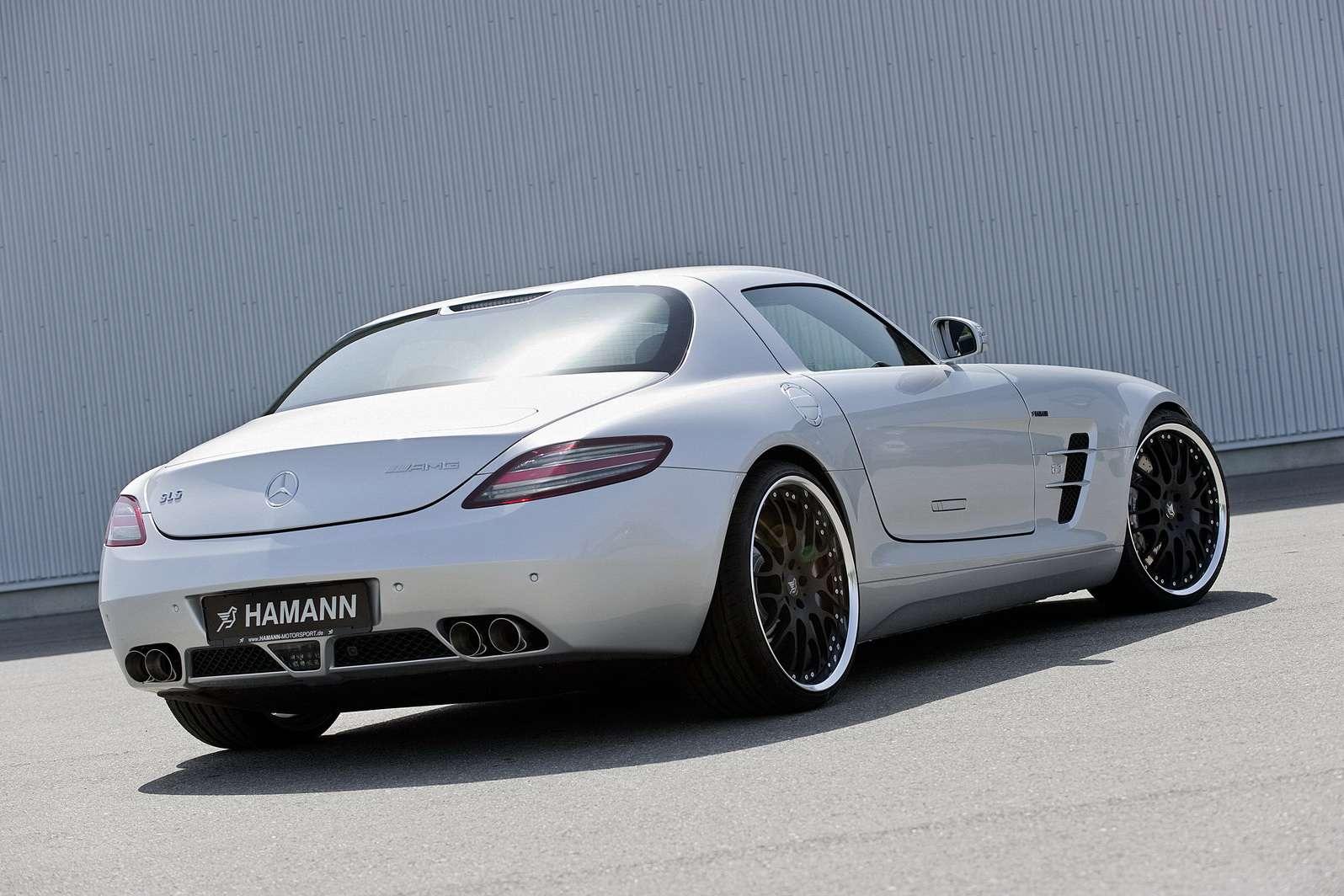 Mercedes SLS AMG Hamann lipiec 2010