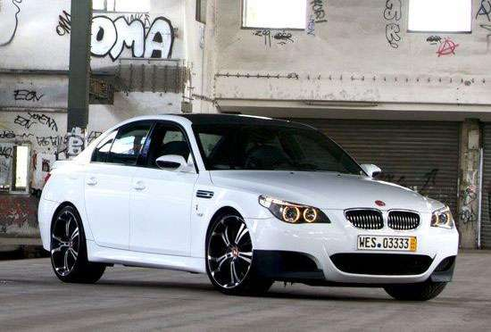 BMW M5 Nowack Motors czerwiec 2010