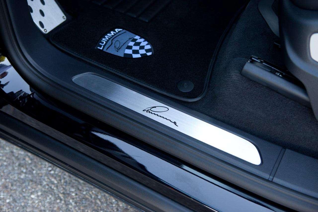 Porsche Cayenne II Lumma sierpien 2010