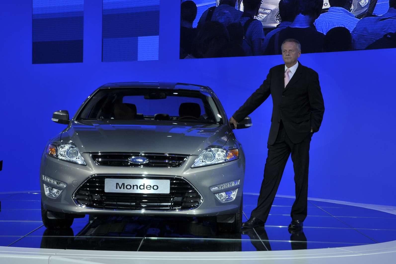 Ford Mondeo 2011 Moskwa sierpien 2010
