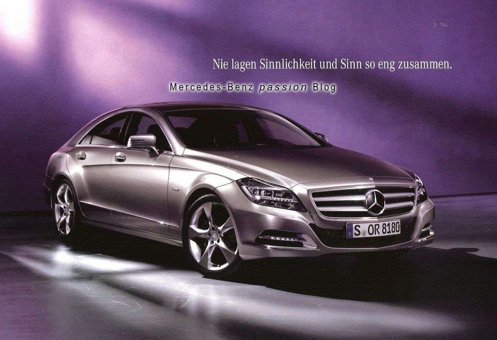 Mercedes CLS 2011 przeciek sierpien 2010