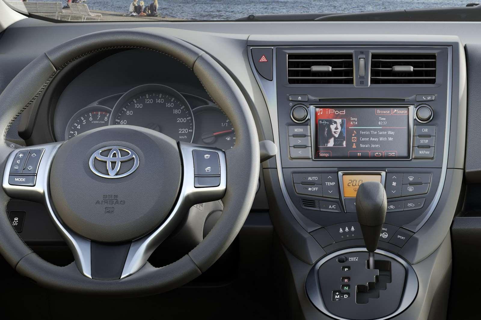 Toyota Verso-S sierpien 2010
