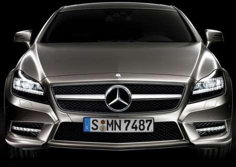 Mercedes-Benz CLS 2011 first oficcial sierpien 2010