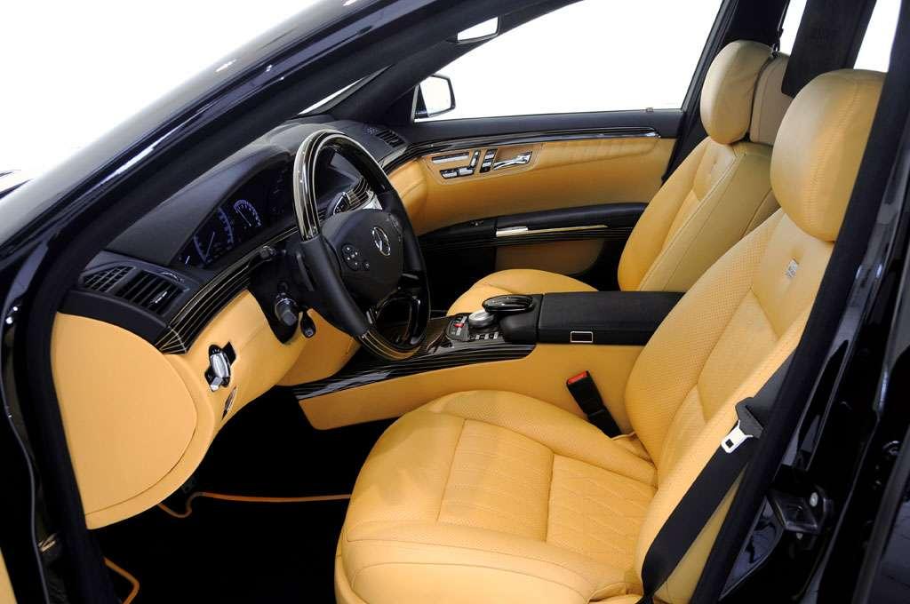 Brabus iBusiness SV12 R Mercedes sierpien 2010