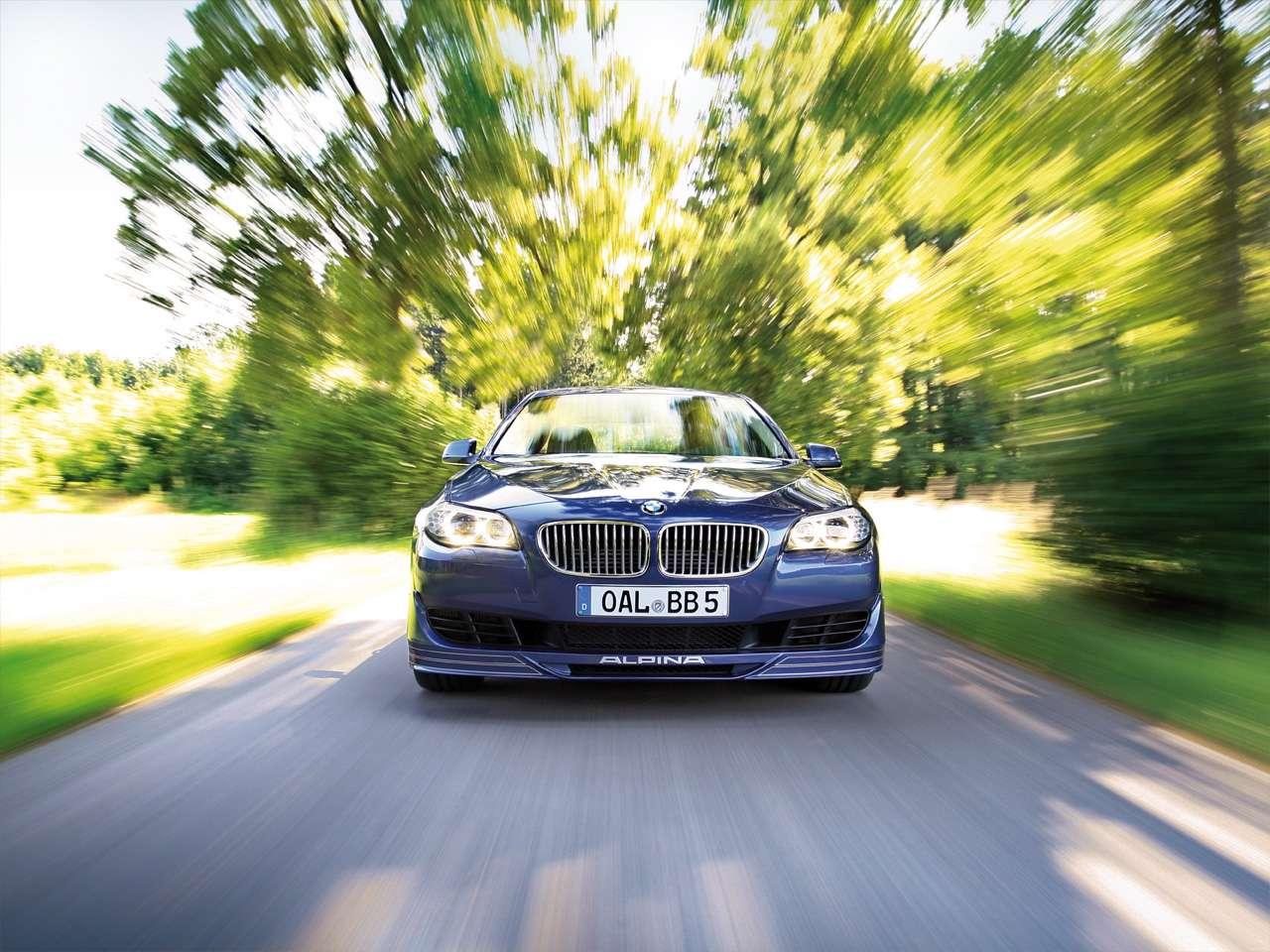 BMW B5 Bi-turbo sierpien 2010