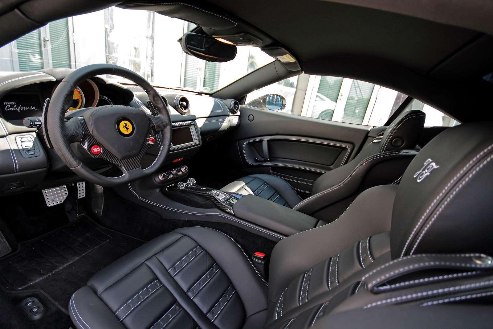 Ferrari California Anderson sierpien 2010
