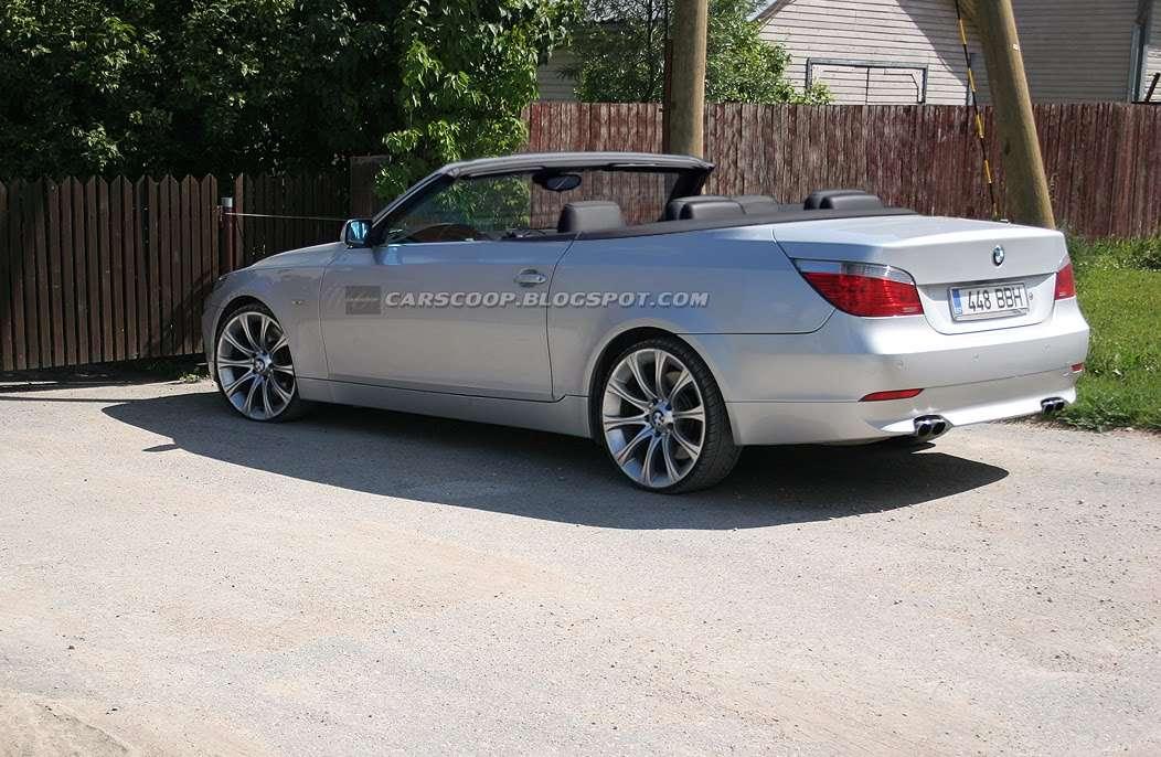 BMW 5 Cabrio carscoop sierpien 2010