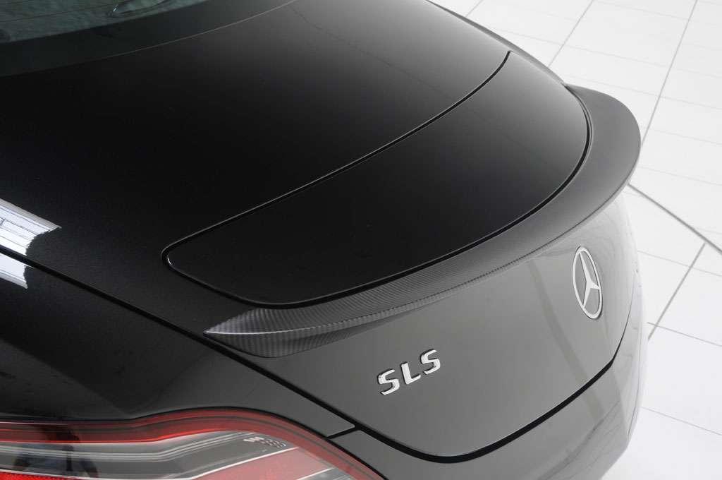 Mercedes SLS AMG od BRABUSA sierpien 2010