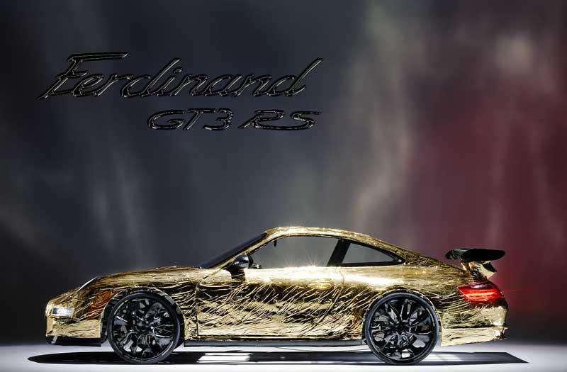 Ferdinand GT3 RS wrzesien 2010