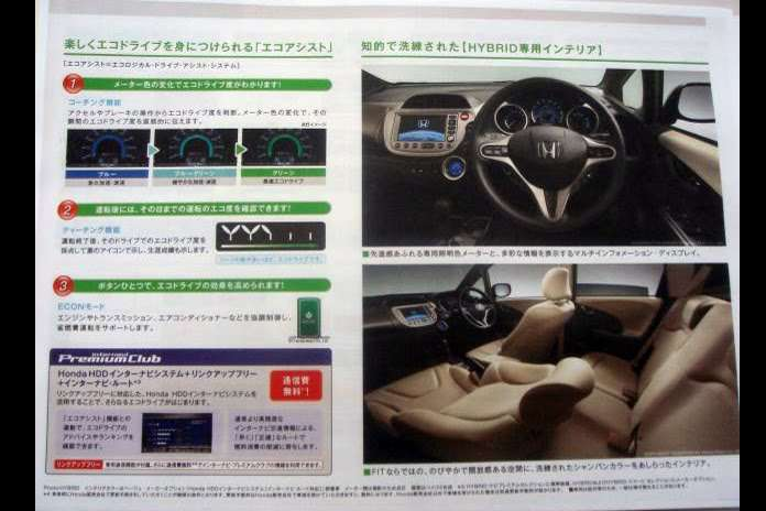 Nowa Honda Jazz Hybrid 2011 sierpien 2010
