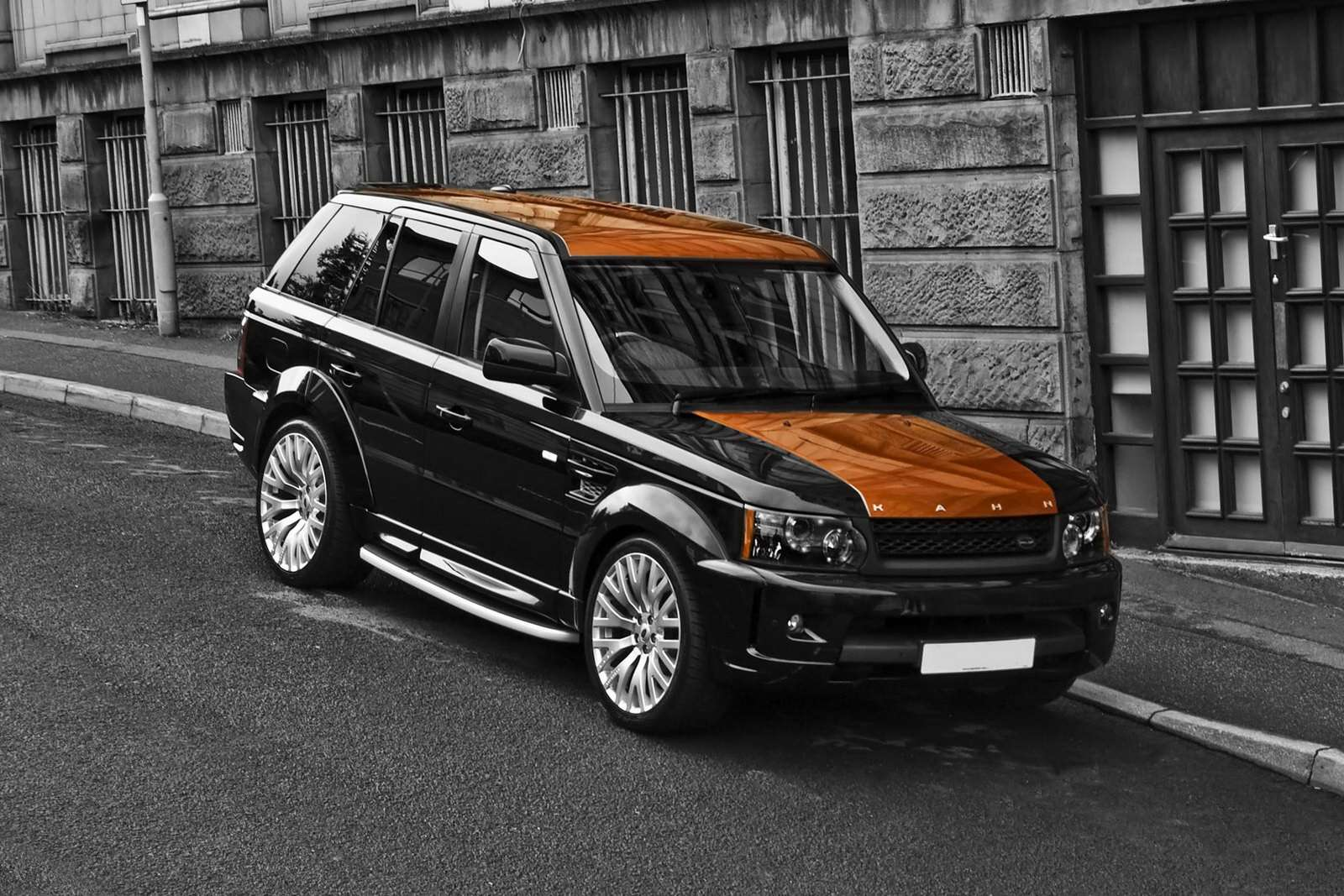 Land Rover Range Rover Sport Vesuvius sierpien 2010