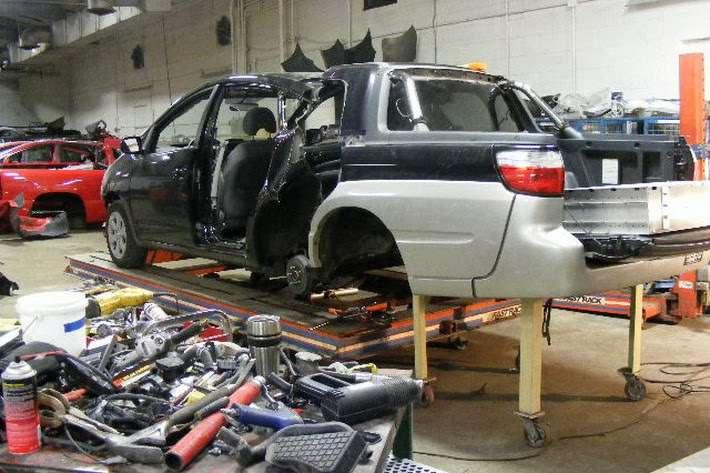 Toyota Prius Subaru baja sierpien 2010