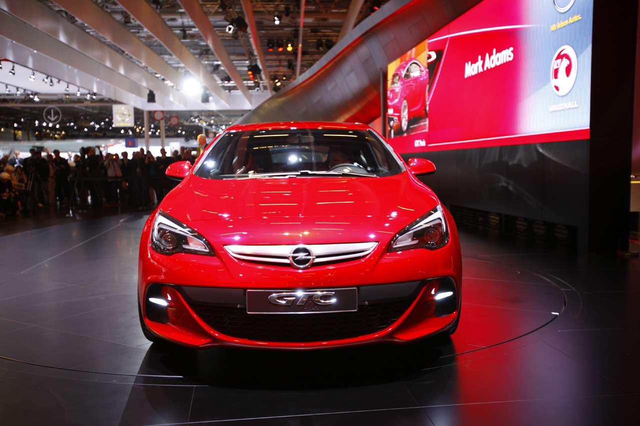 Opel GTC Paris Concept paryz 2010 wrzesien 2010