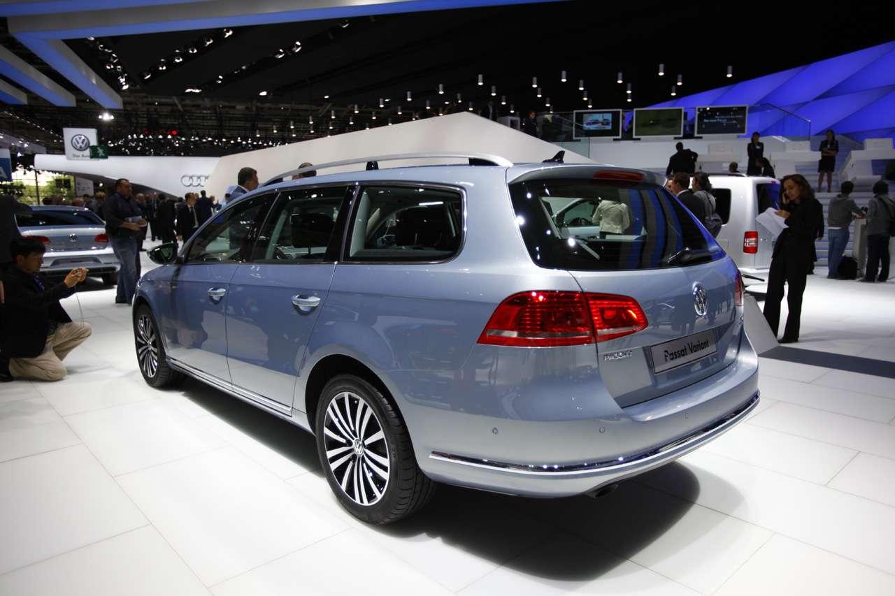 VW Passat B7 paryz 2010 wrzesien 2010