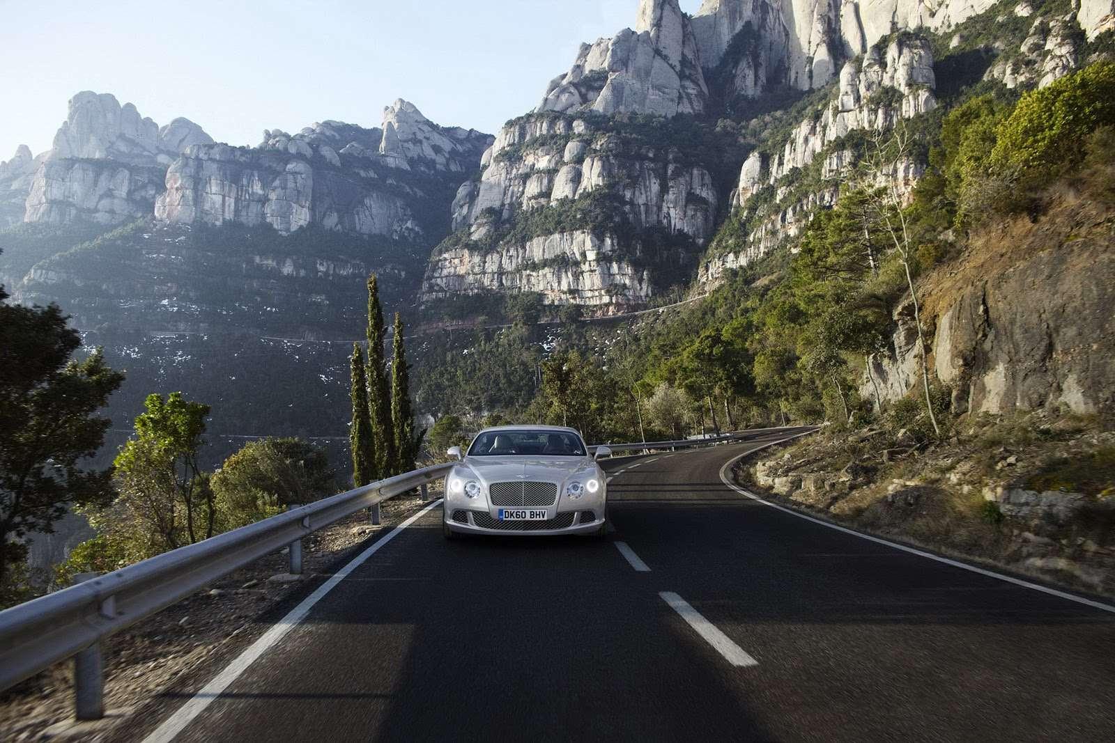 Bentley Continental GT Facelift przed fr wrzesien 2010