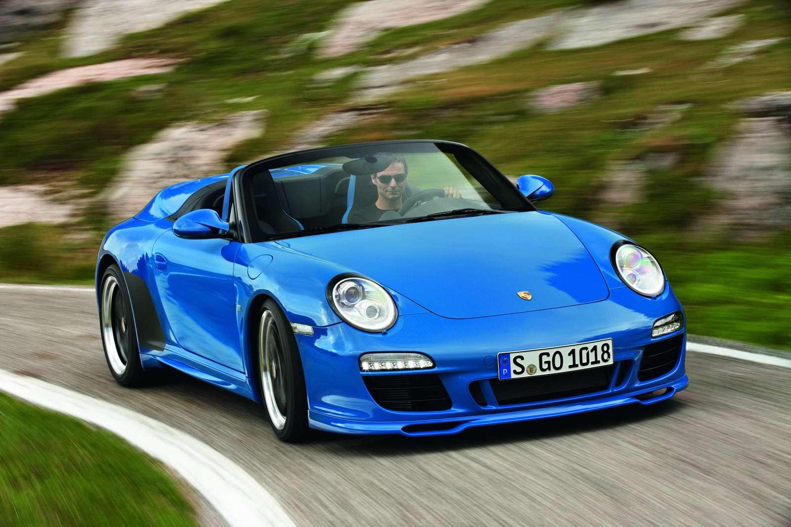 Nowe Porsche 911 Speedster wrzesien 2010