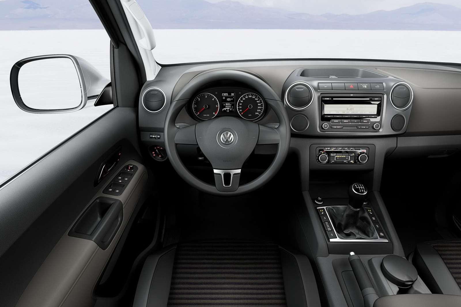 VW Amarok SingleCab BlueMotion wrzesien 2010