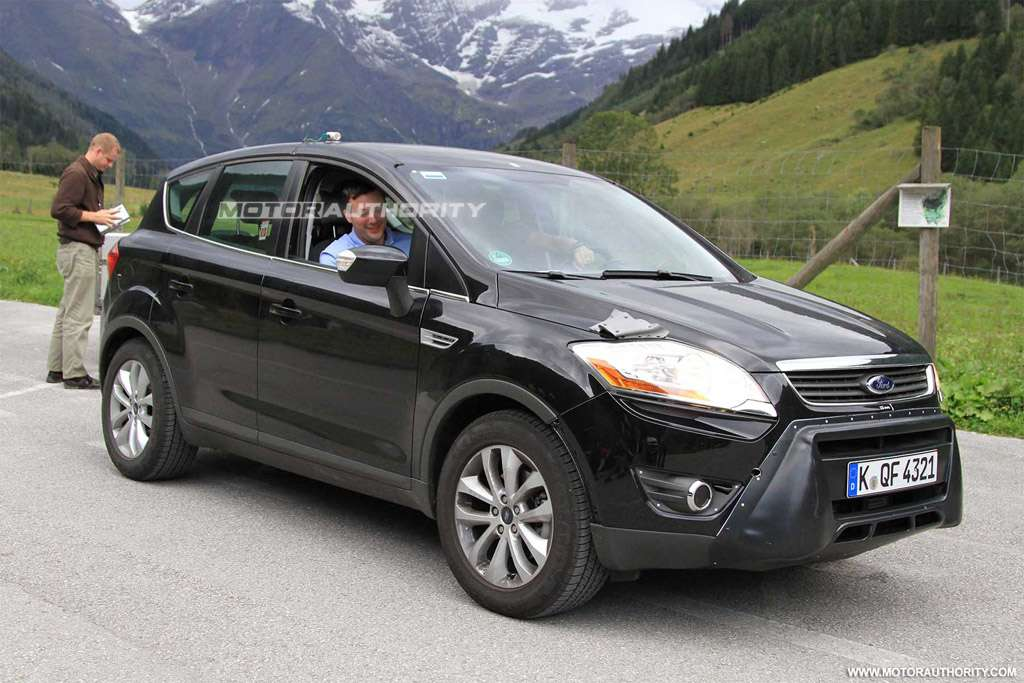 Ford Kuga 2012 po lifcie szpieg wrzesien 2010
