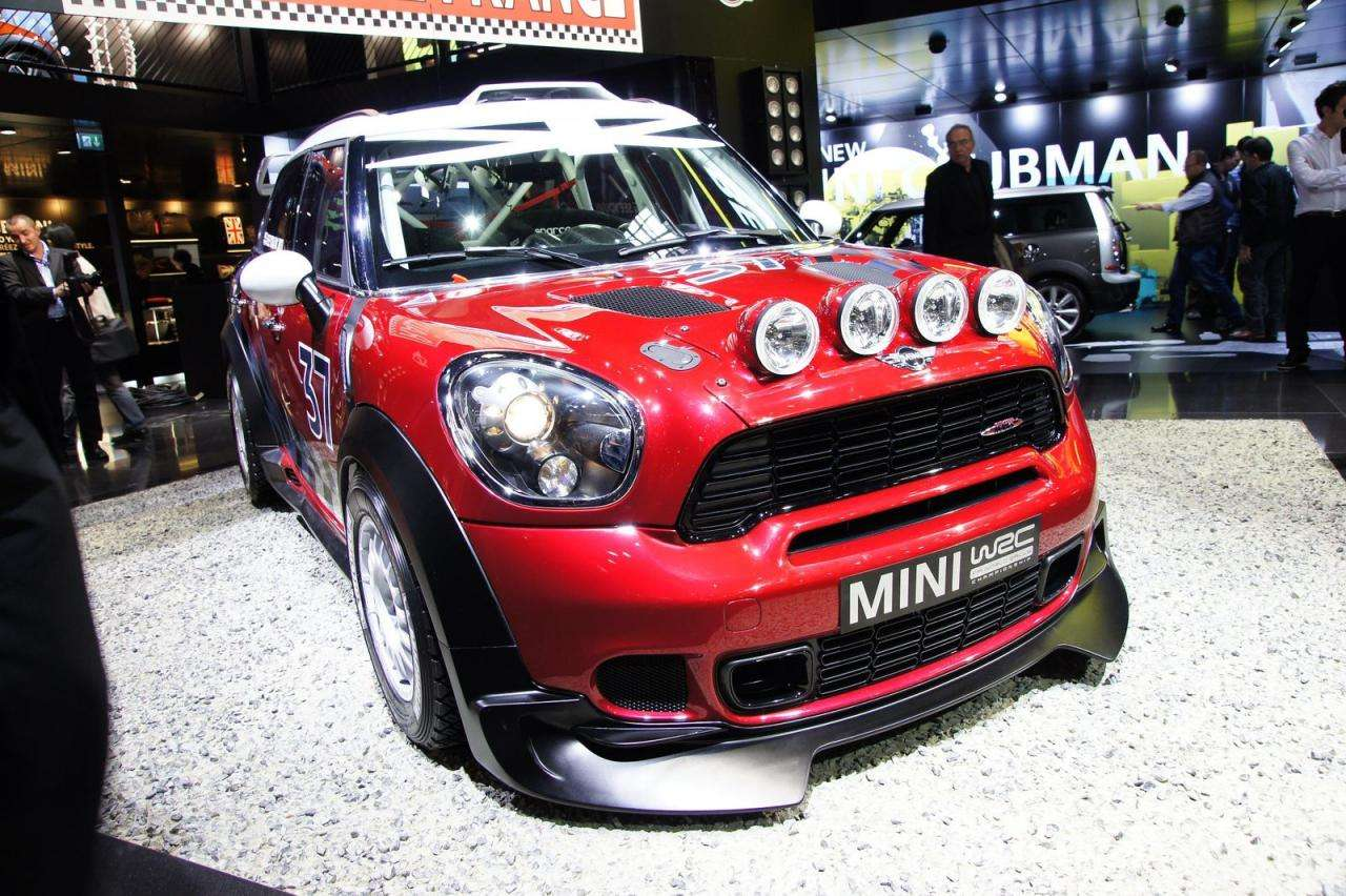 MINI Countryman WRC paryz 2010 wrzesien 2010