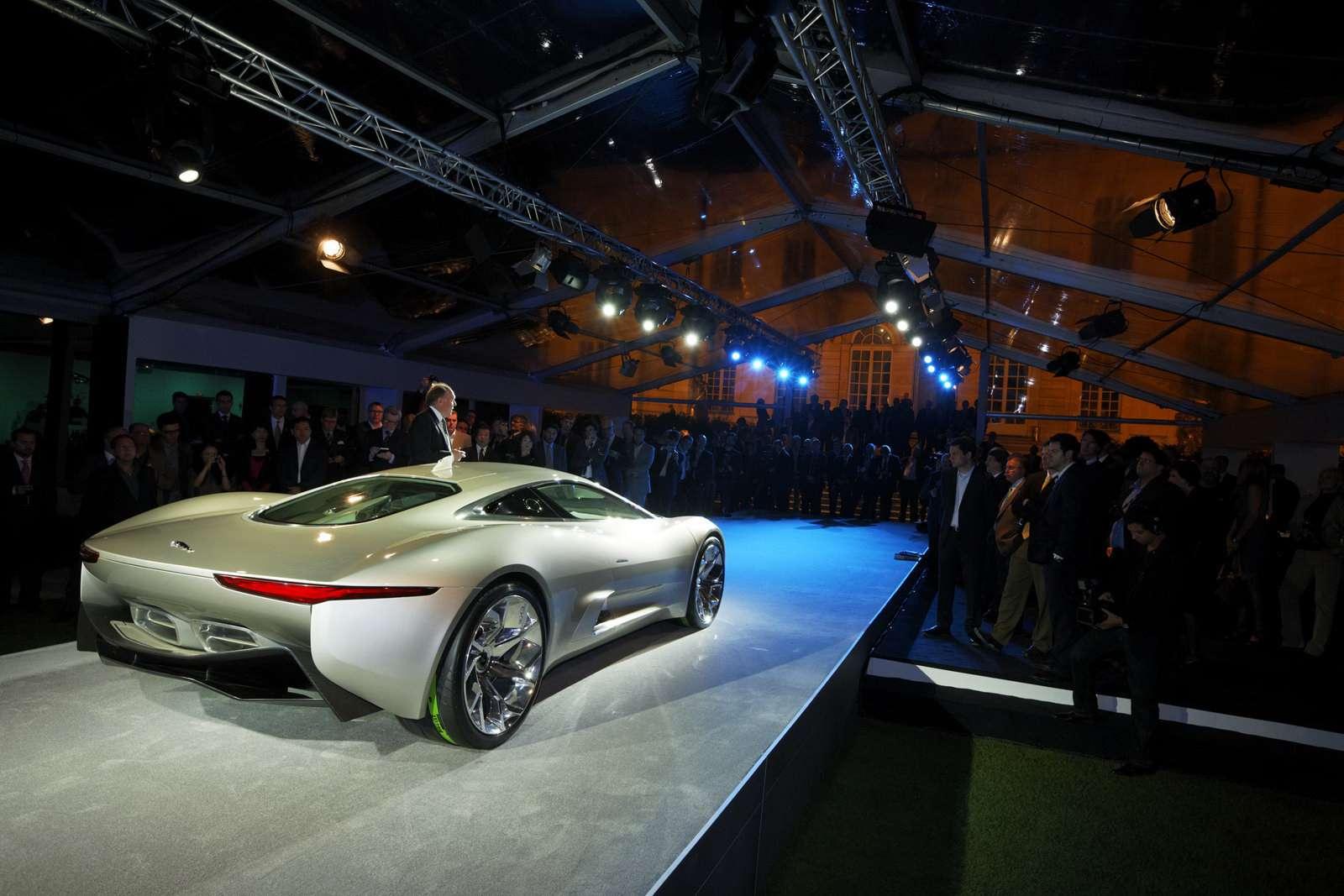 Jaguar C-X75 paryz wrzesien 2010