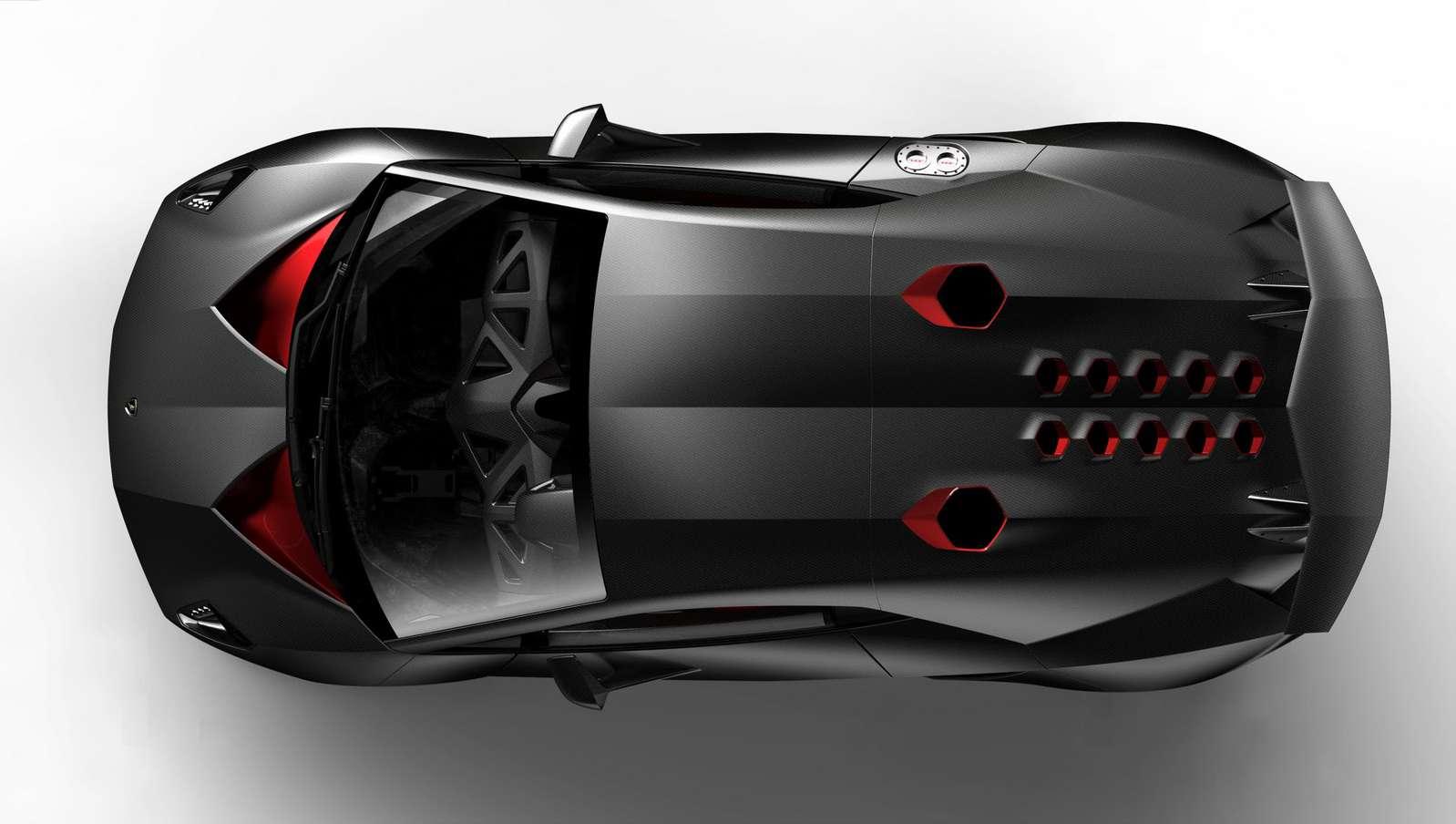 Lamborghini Sesto Elemento Concept paryz 2010 wrzesien 2010