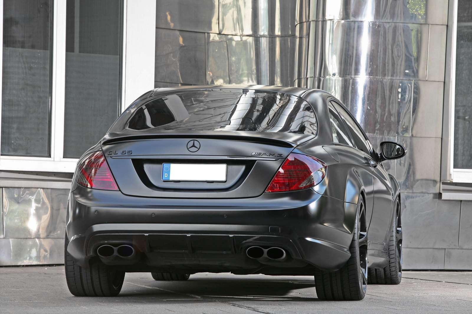 Mercedesa CL65 AMG Black Edition wrzesien 2010