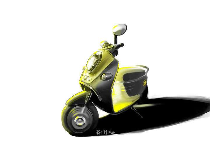 Smart Mini Scooter wrzesien 2010