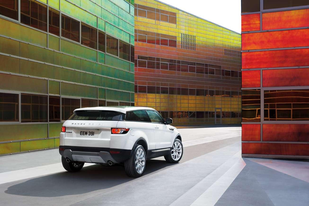 Trzydrzwiowy Range Rover Evoque detale wrzesien 2010