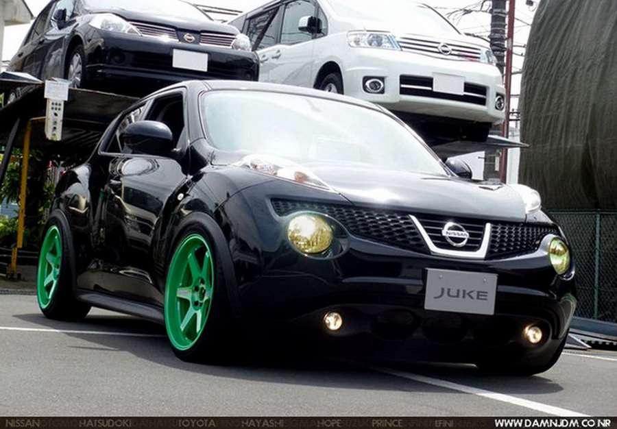 Nissana Juke Damnjdm wrzesien 2010