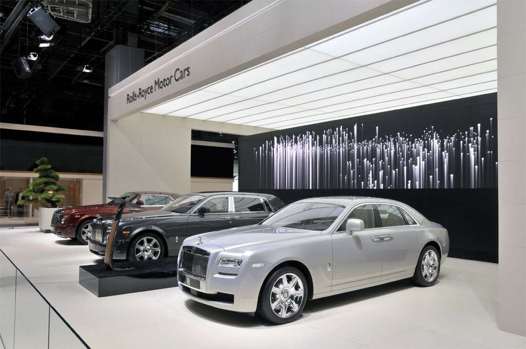 Rolls Royce na targach paryz 2010 wrzesien 2010