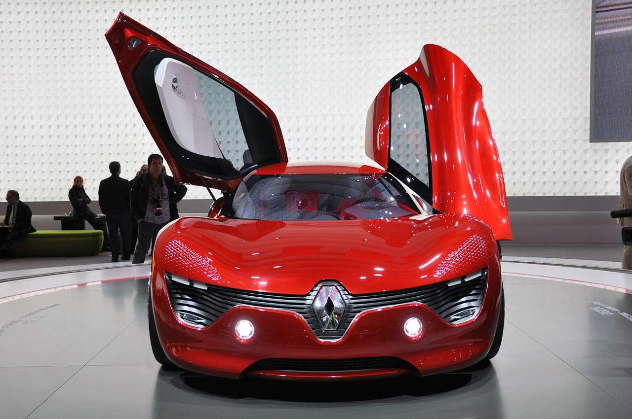 Renault Dezir Concept paryz 2010 pazdziernik 2010