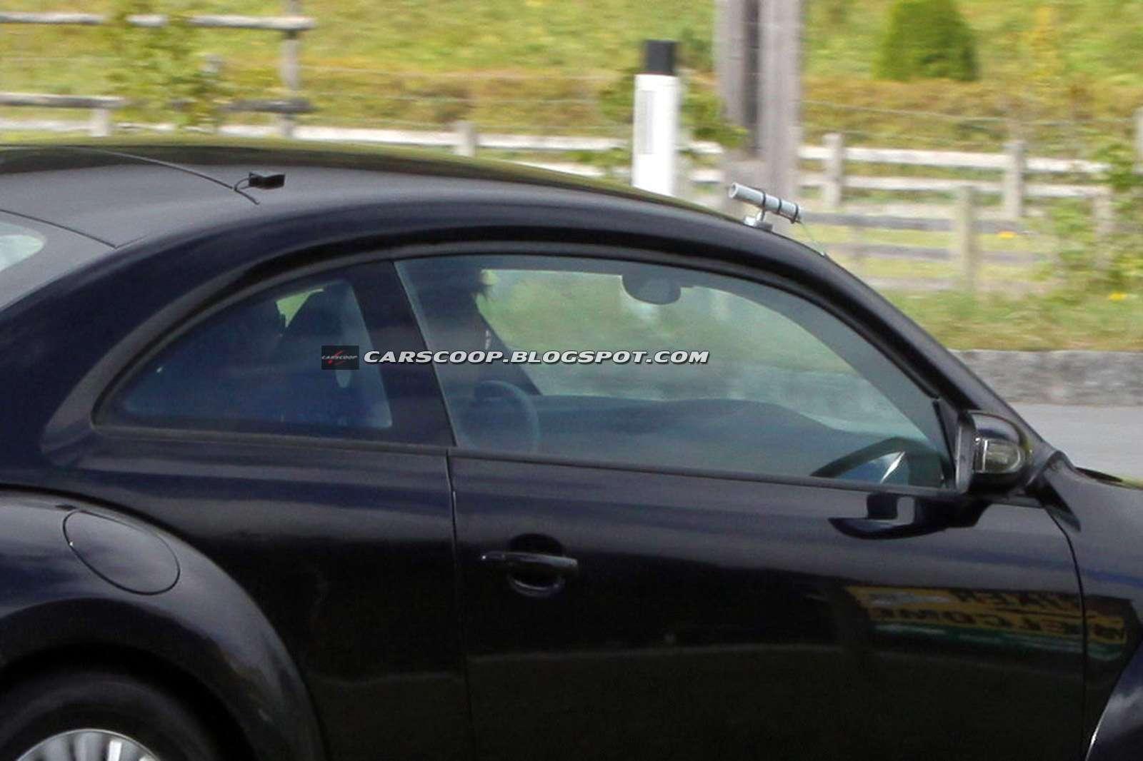 VW New Beetle 2012 szpieg pazdziernik 2010