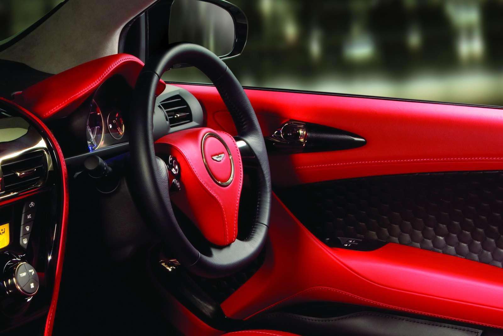 Aston Martin Cygnet produkcja pazdziernik 2010