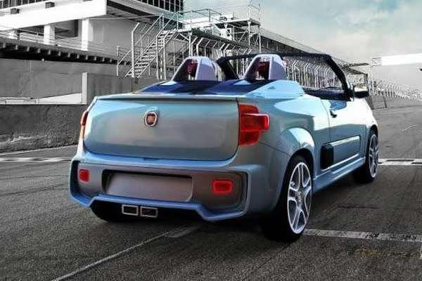 Studyjny Fiat Uno Roadster I Uno Sporting pazdziernik 2010