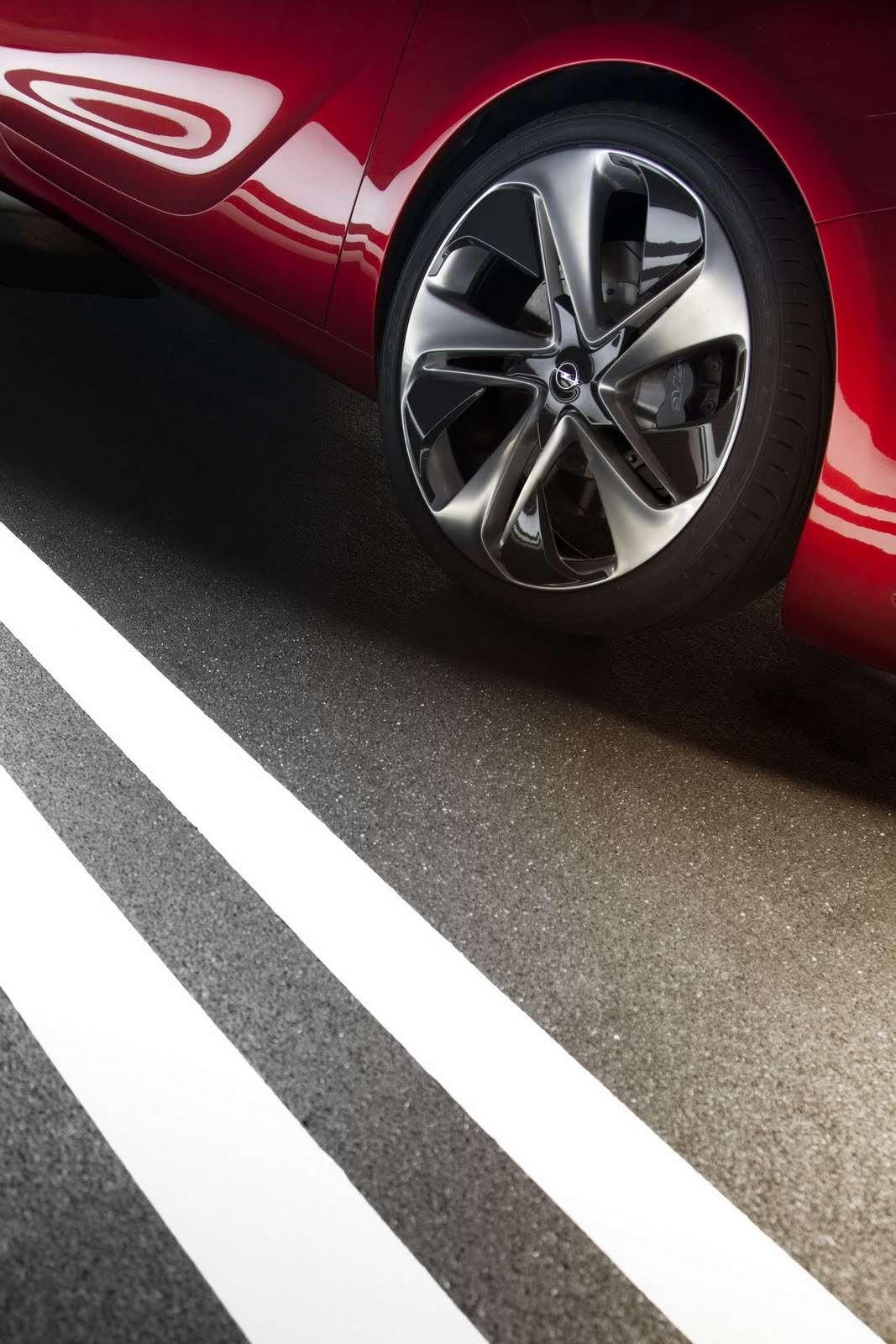 Opel GTC Paris Concept wcz wrzesien 2010
