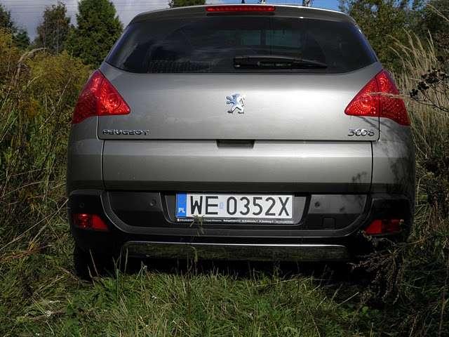 Peugeot 3008 test pazdziernik 2010