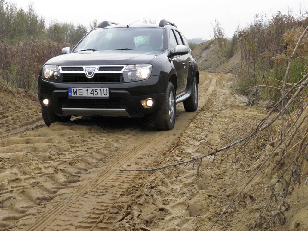 Dacia Duster test pazdziernik 2010