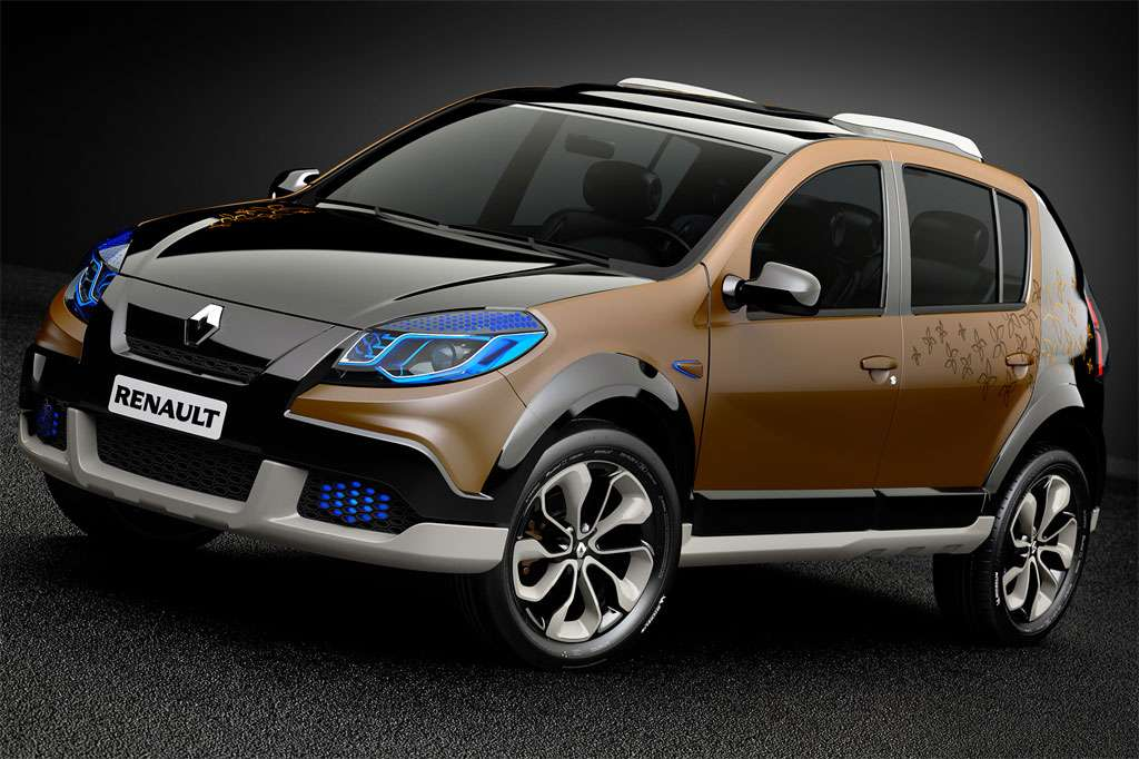 renault dacia sandero stepway concept. Black Bedroom Furniture Sets. Home Design Ideas