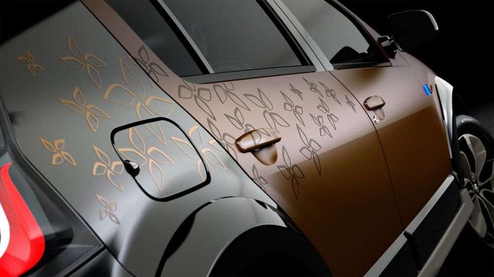 Renault Dacia Sandero Steway Concept pazdziernik 2010