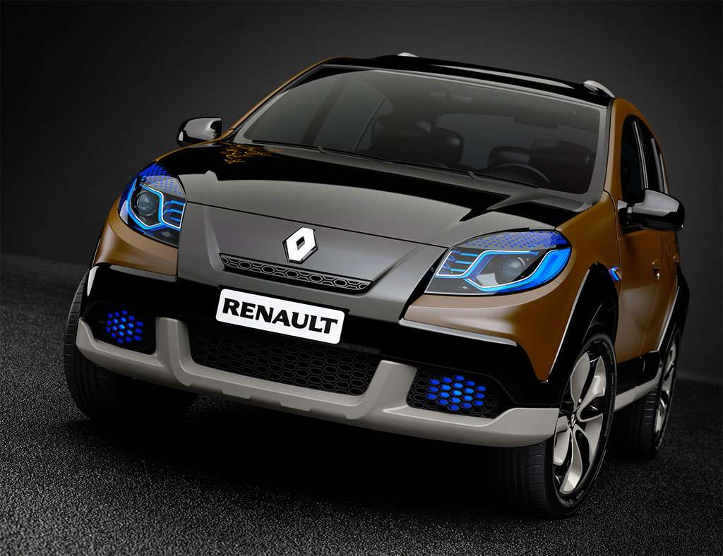 renault dacia sandero stepway concept motofilm. Black Bedroom Furniture Sets. Home Design Ideas