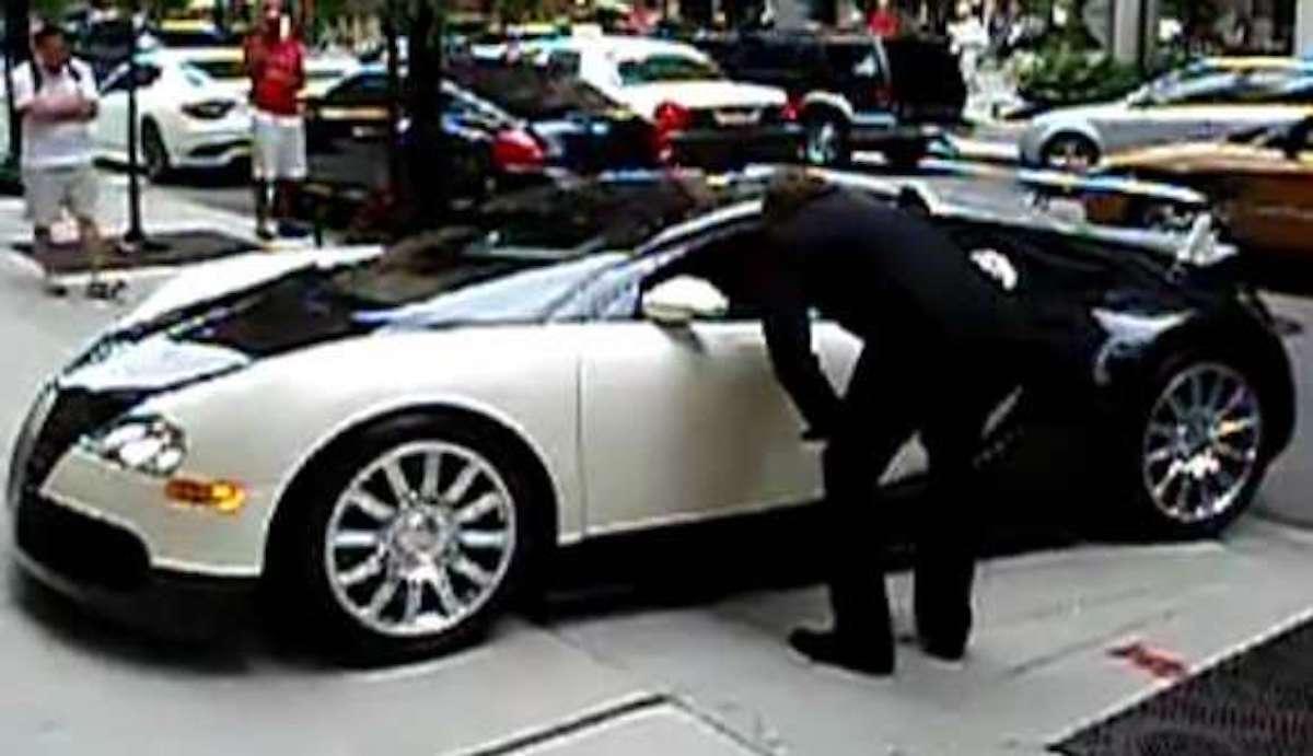 Bugatti Veyron: jazda próbna / testowa
