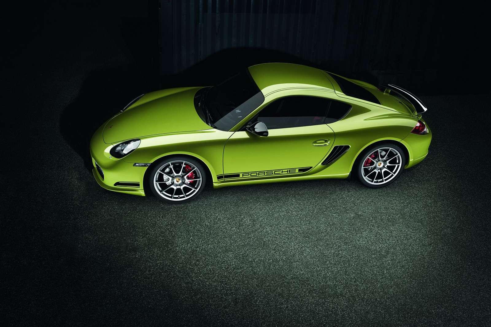 Porsche Cayman R listopad 2010