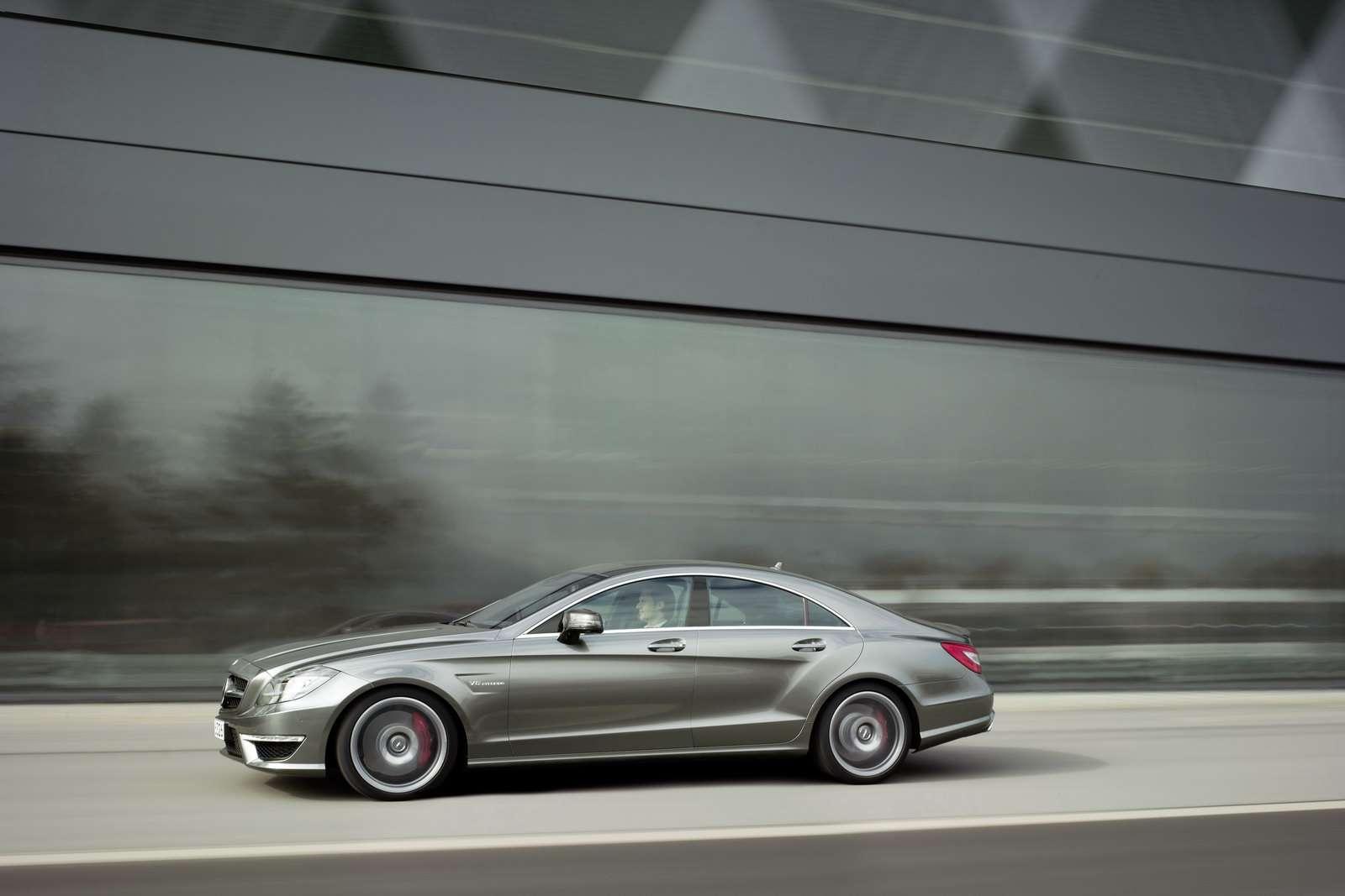 Mercedes CLS63 AMG oficjalnie listopad 2010