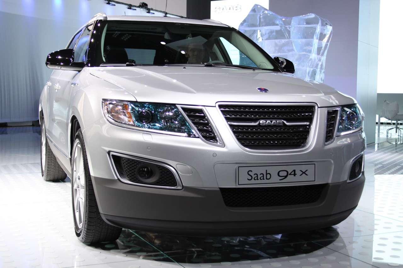 Saab 9-4X los angeles 2010 listopad 2010