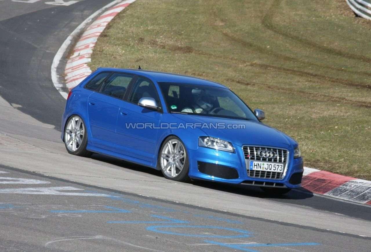 Audi RS3 szpieg foto listopad 2010