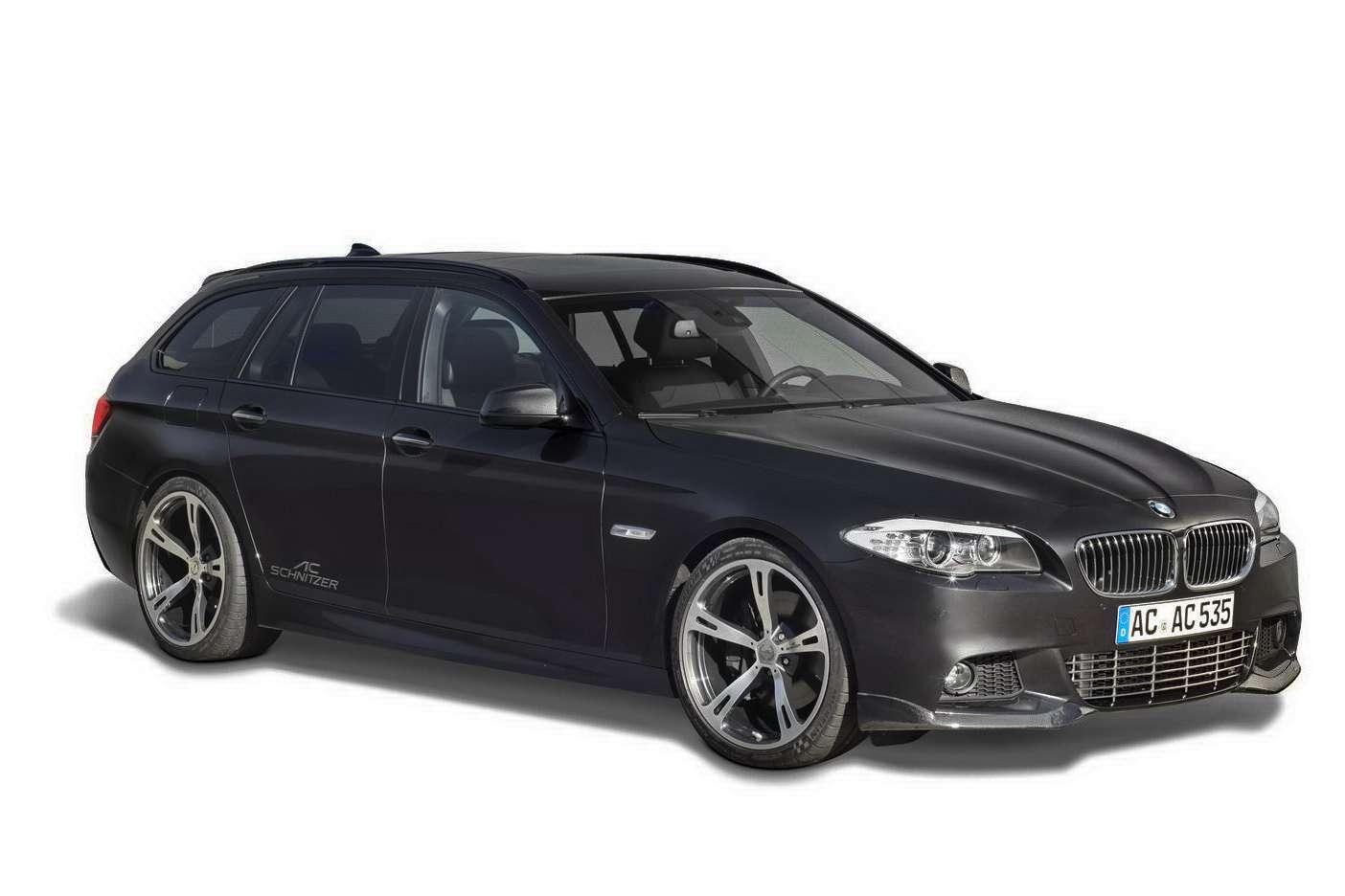BMW 5 kombi z wizyta u AC Schnitzer listopad 2010