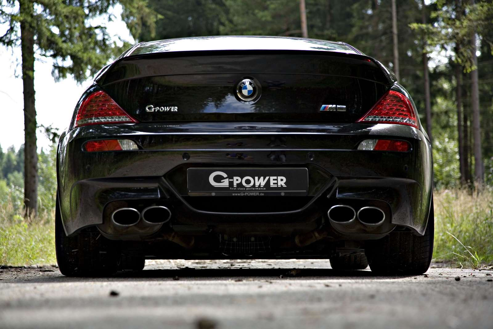 G-Power BMW M6 Hurricane RR 800 listopad 2010
