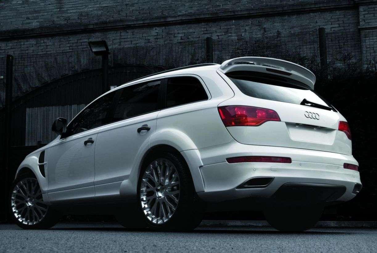 Audi Q7 od firmy Project Kahn listopad 2010