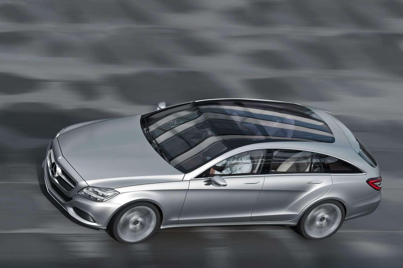 Mercedes CLS Shooting Brake oficjalnie listopad 2010