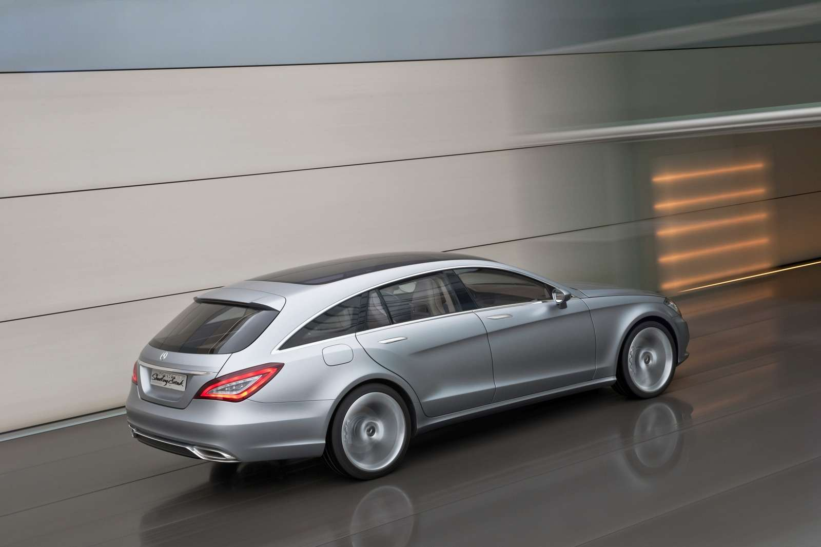 Mercedes CLS Shooting Brake oficjalnie listopad 2010